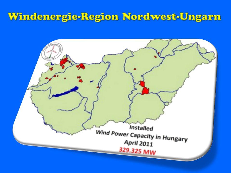 Windenergie-Region Nordwest-Ungarn