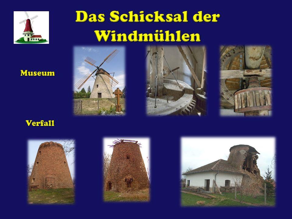 Das Schicksal der Windmühlen
