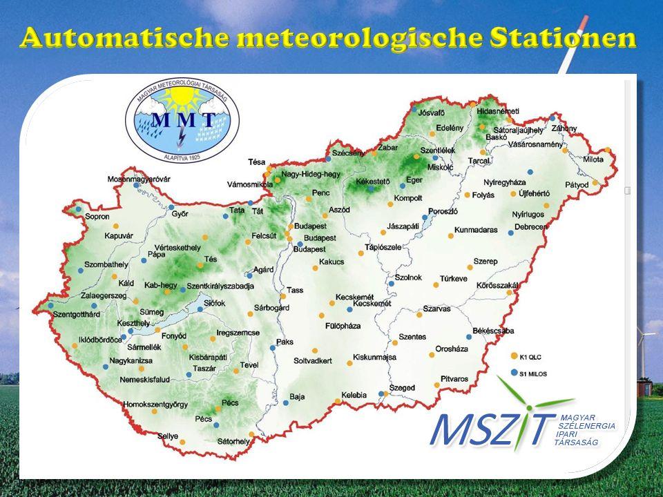 Automatische meteorologische Stationen