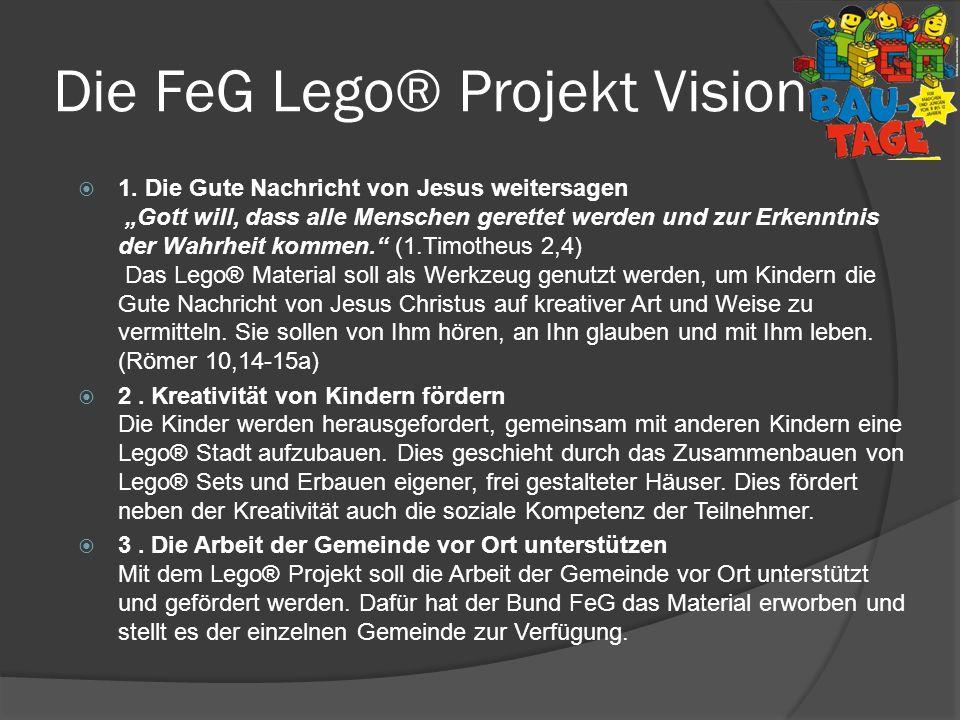 Die FeG Lego® Projekt Vision