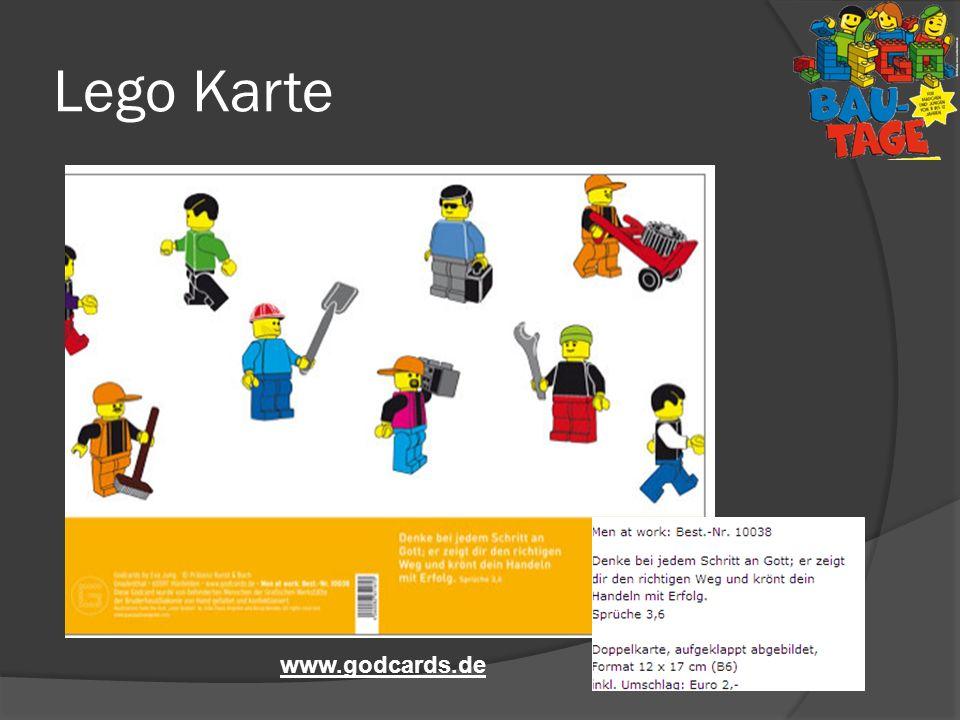 Lego Karte www.godcards.de