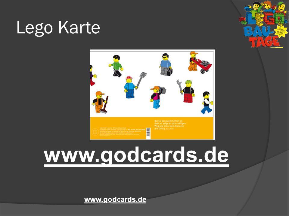 Lego Karte www.godcards.de www.godcards.de