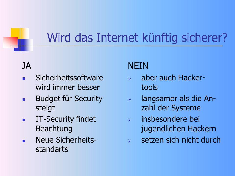 Wird das Internet künftig sicherer