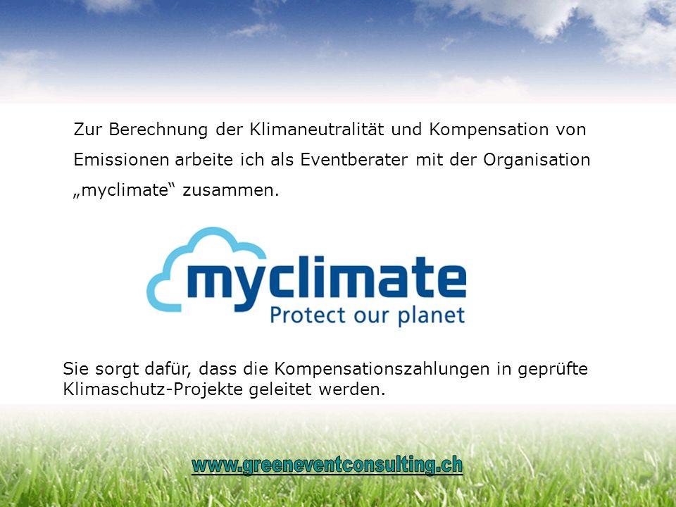 Zur Berechnung der Klimaneutralität und Kompensation von