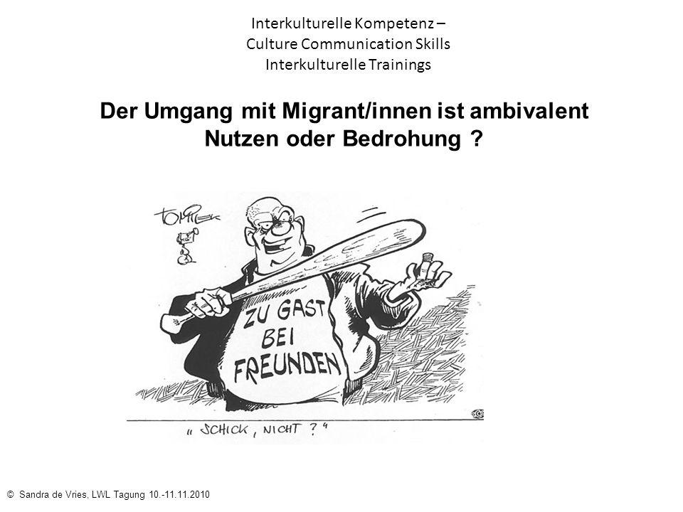 Der Umgang mit Migrant/innen ist ambivalent