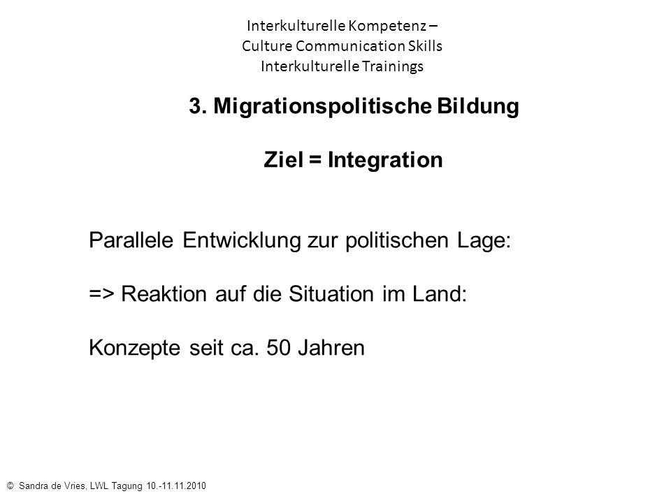 3. Migrationspolitische Bildung