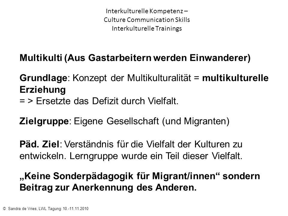 Multikulti (Aus Gastarbeitern werden Einwanderer)