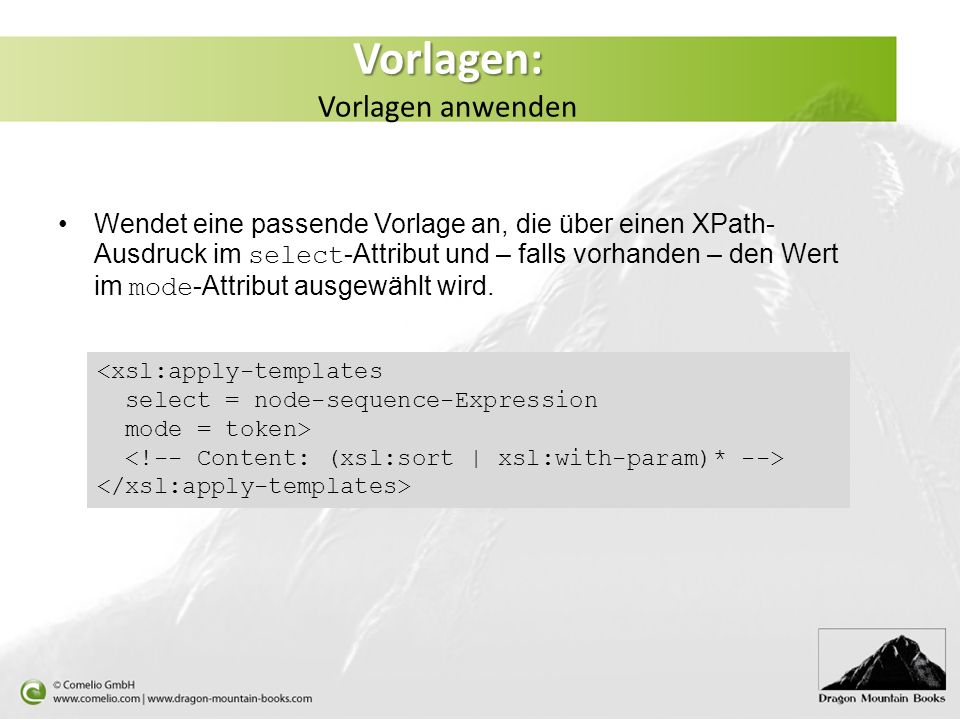 Xslt ppt herunterladen for Xsl apply templates mode