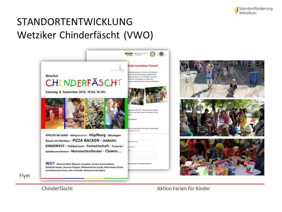 STANDORTENTWICKLUNG Wetziker Chinderfäscht (VWO)
