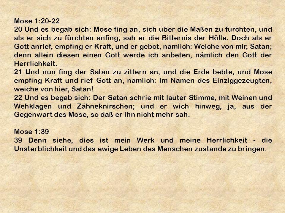 Mose 1:20-22