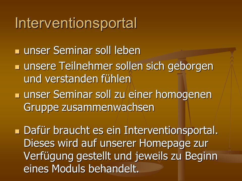 Interventionsportal unser Seminar soll leben