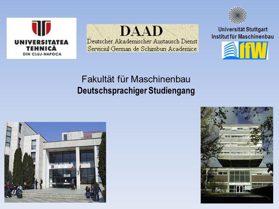 Deutschsprachiger Studiengang
