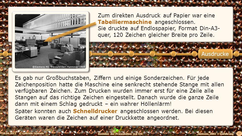 ©Siemens AG, Pressebilder: Hannover 1959