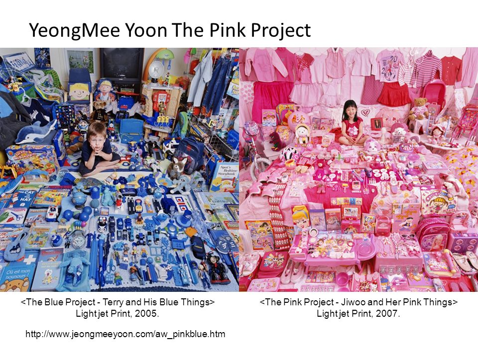 YeongMee Yoon The Pink Project