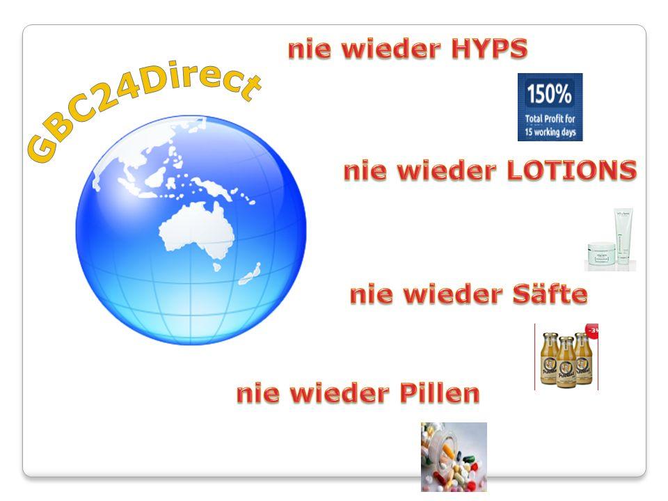 GBC24Direct nie wieder HYPS nie wieder LOTIONS nie wieder Säfte
