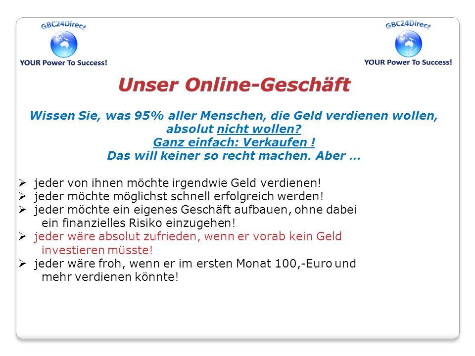 Unser Online-Geschäft