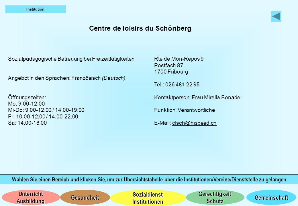 Centre de loisirs du Schönberg