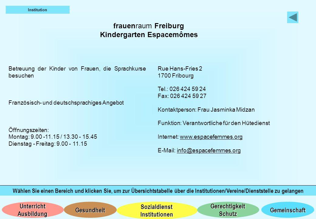 Kindergarten Espacemômes