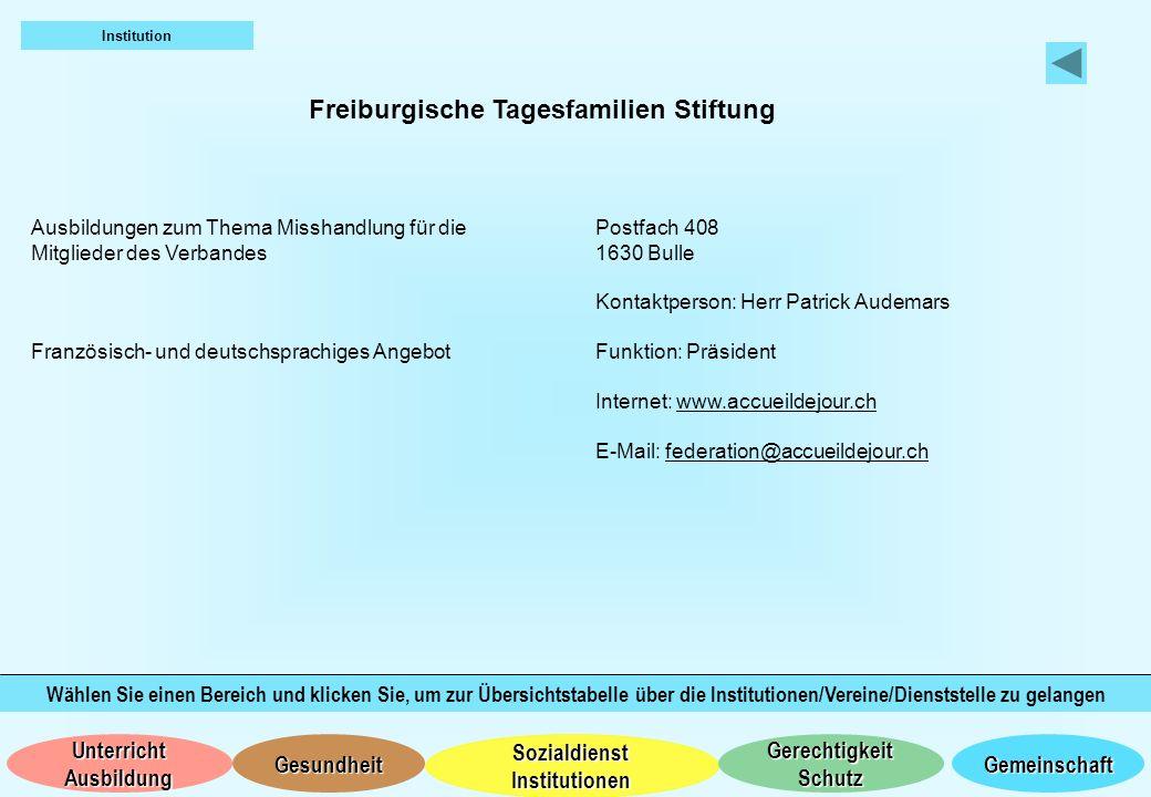 Freiburgische Tagesfamilien Stiftung