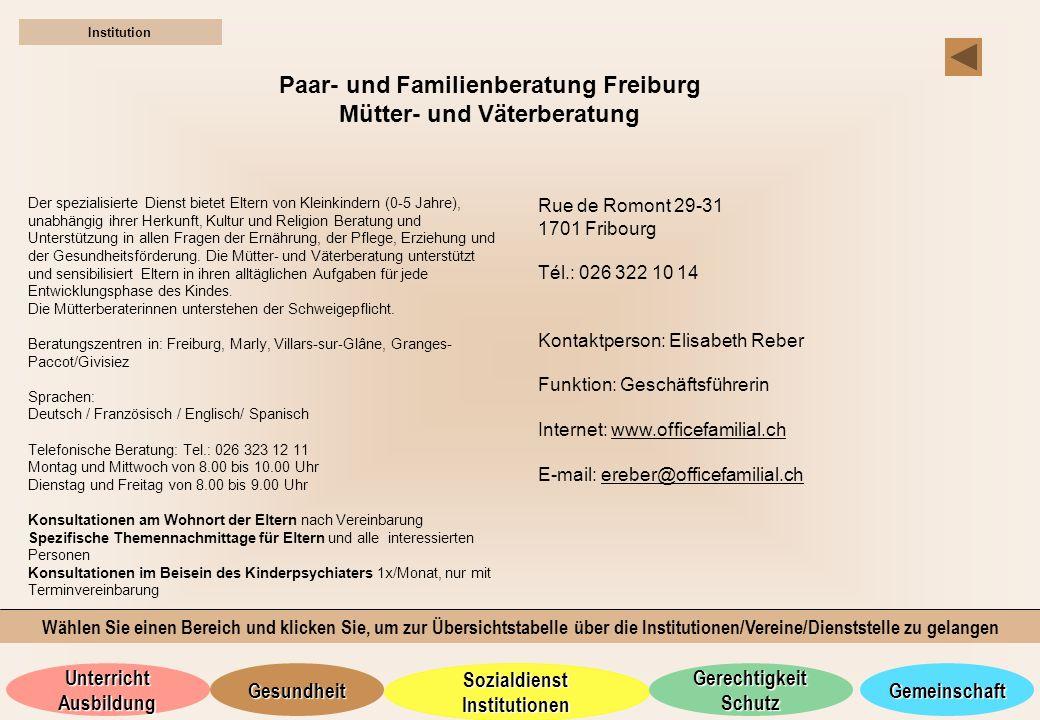 Paar- und Familienberatung Freiburg Mütter- und Väterberatung