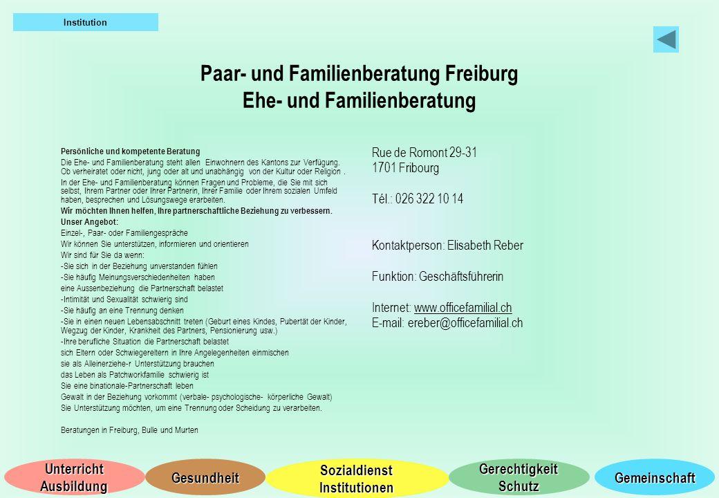 Paar- und Familienberatung Freiburg Ehe- und Familienberatung