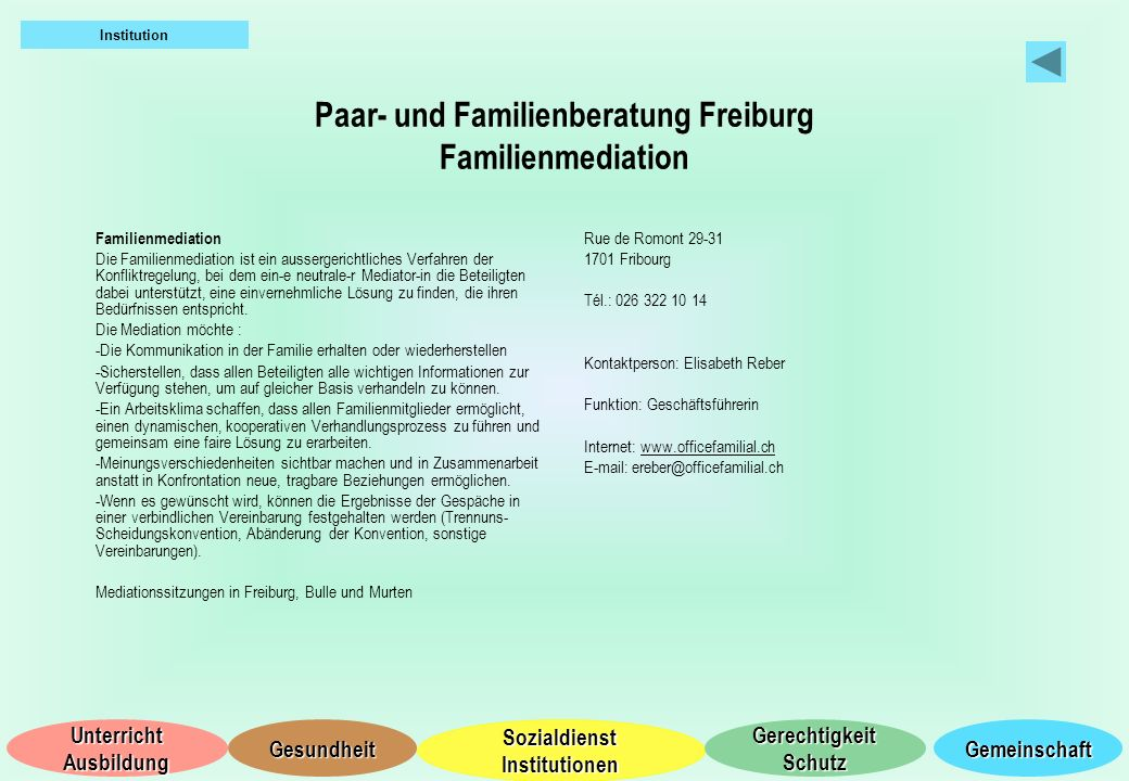 Paar- und Familienberatung Freiburg Familienmediation