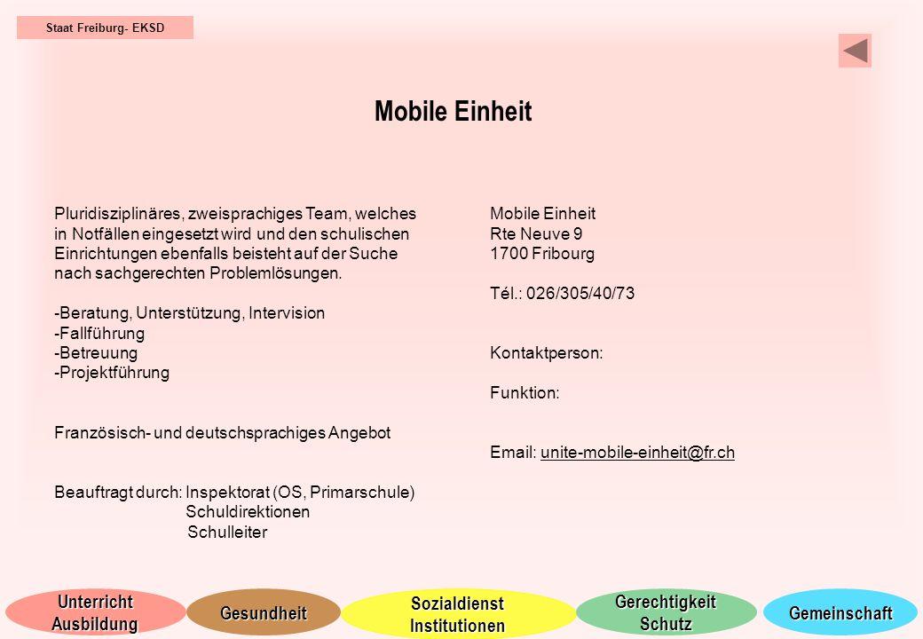 Staat Freiburg- EKSD Mobile Einheit.