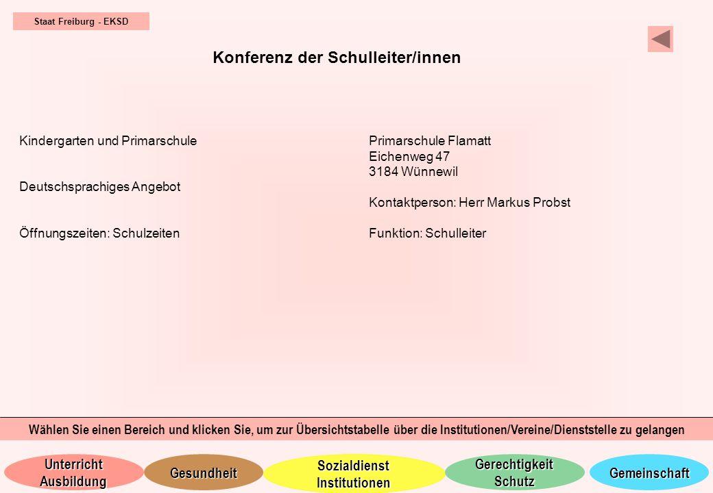 Konferenz der Schulleiter/innen