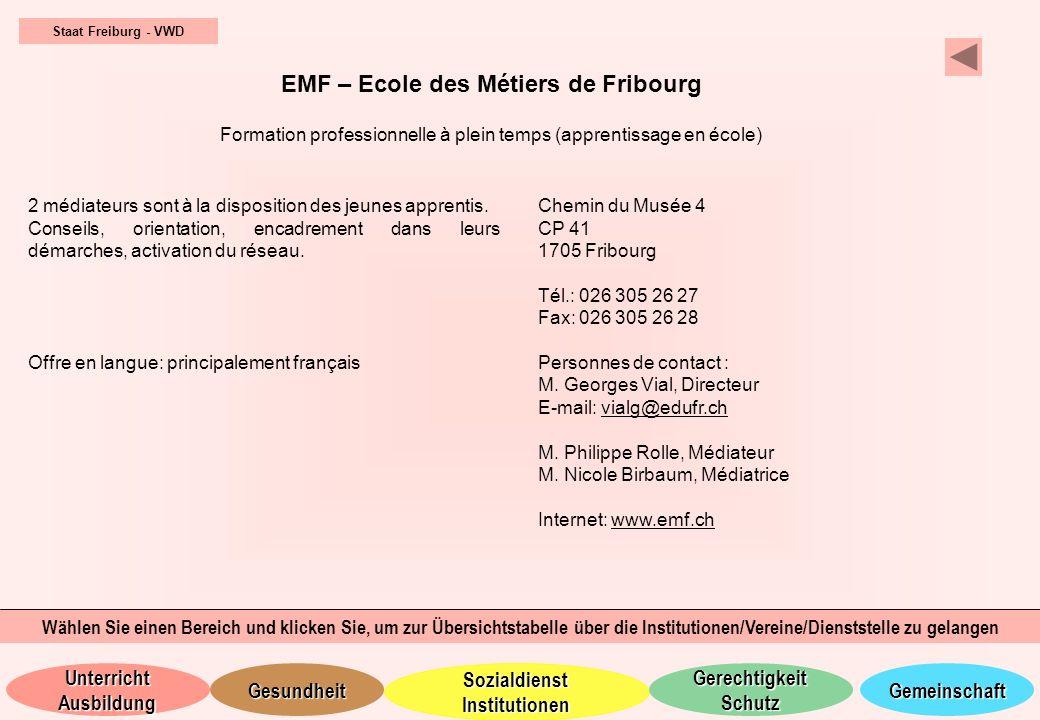 EMF – Ecole des Métiers de Fribourg