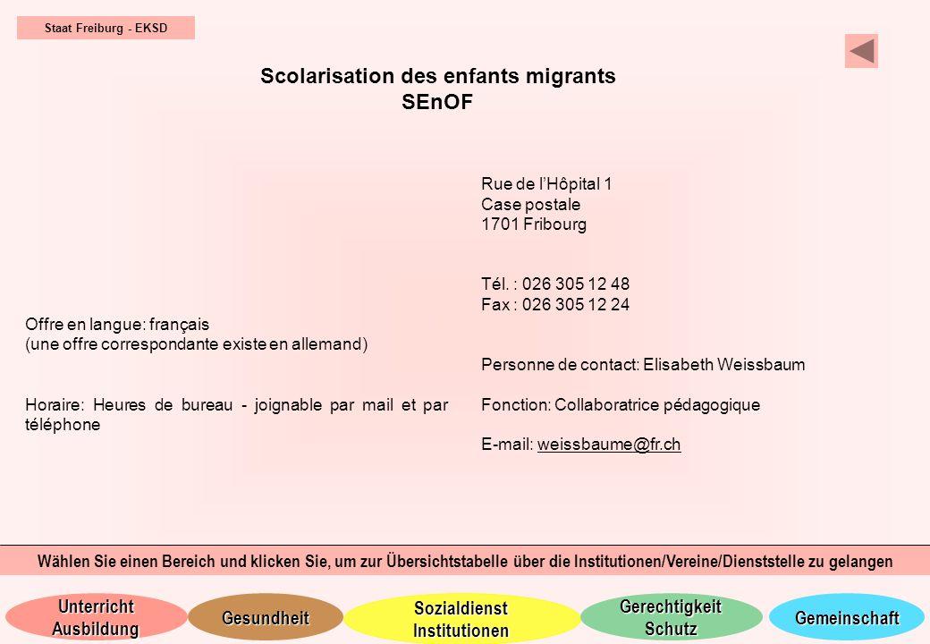 Scolarisation des enfants migrants