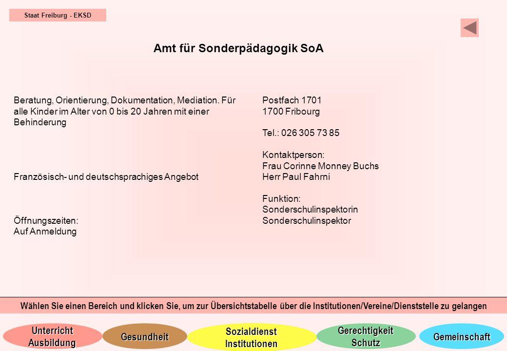Amt für Sonderpädagogik SoA