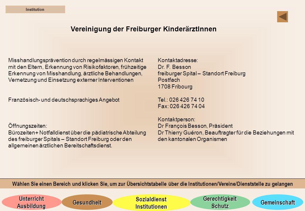 Vereinigung der Freiburger KinderärztInnen