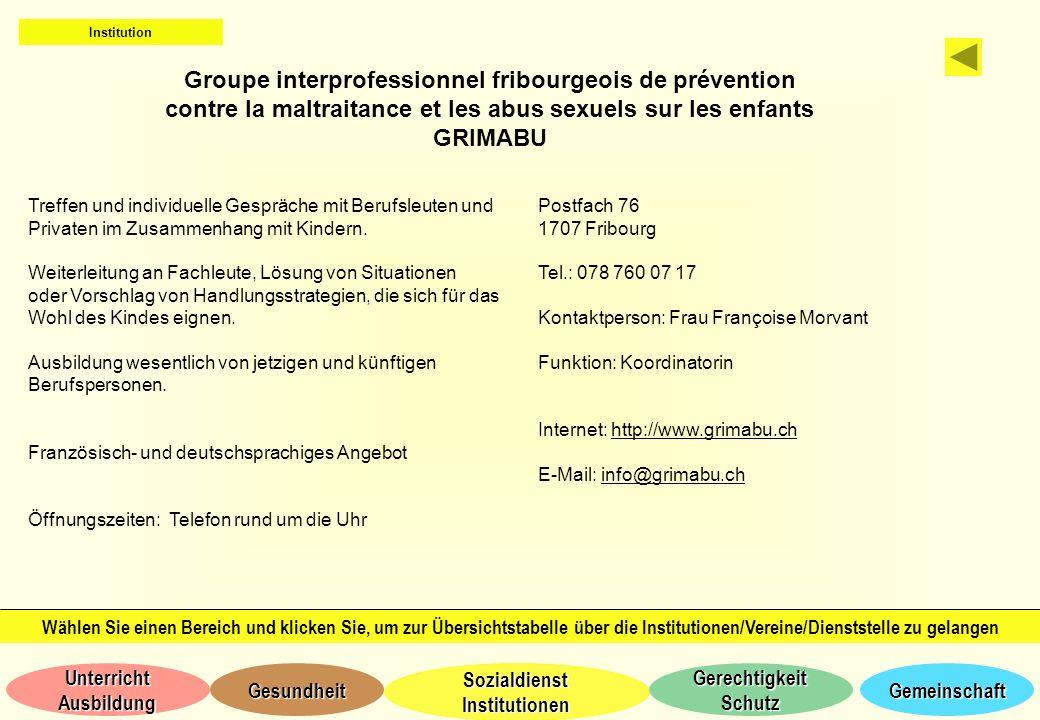 Groupe interprofessionnel fribourgeois de prévention