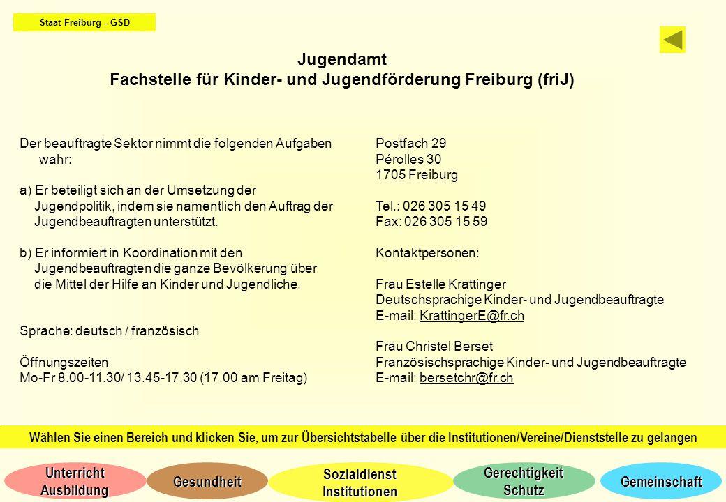 Fachstelle für Kinder- und Jugendförderung Freiburg (friJ)