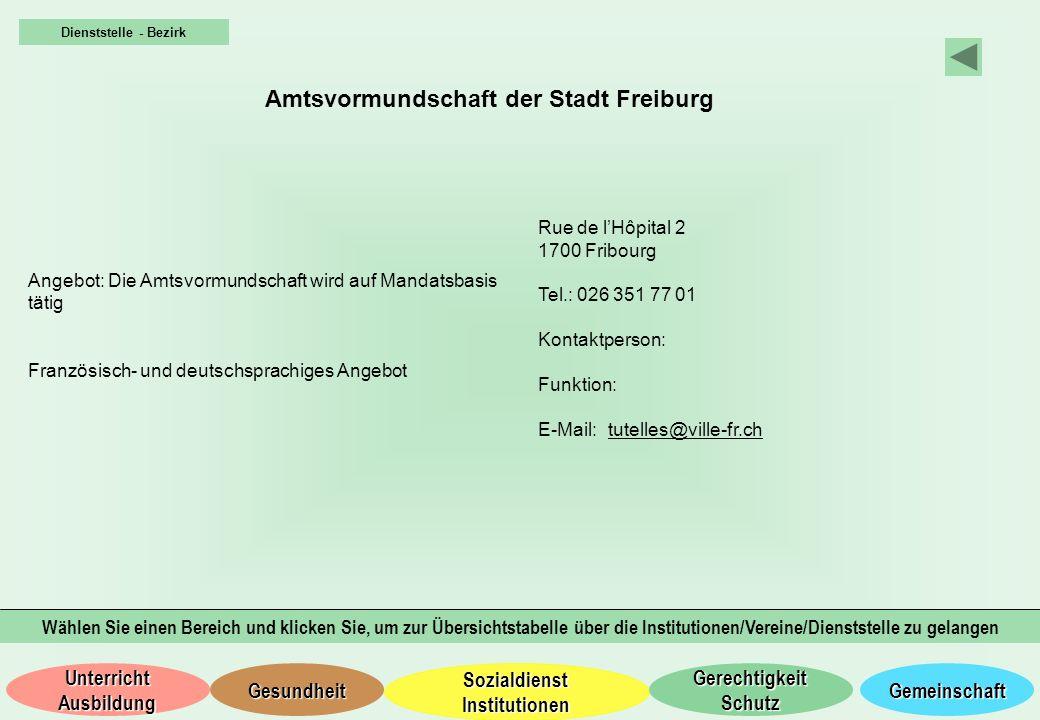 Amtsvormundschaft der Stadt Freiburg