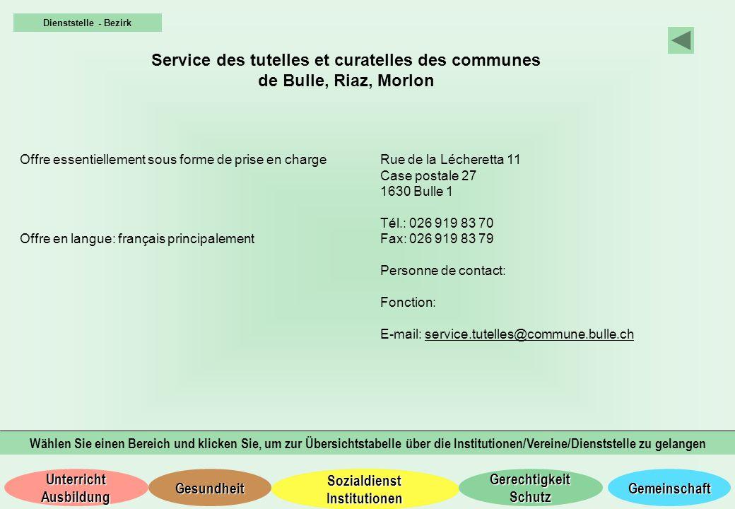 Service des tutelles et curatelles des communes