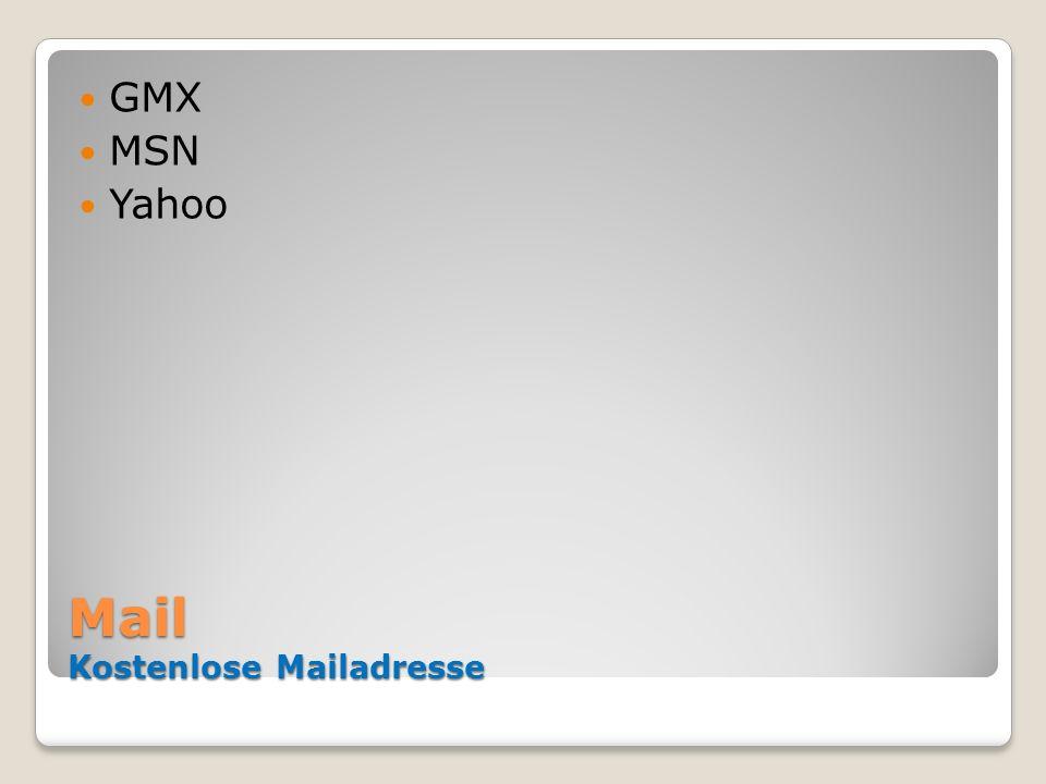 Mail Kostenlose Mailadresse