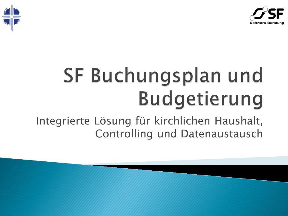 SF Buchungsplan und Budgetierung