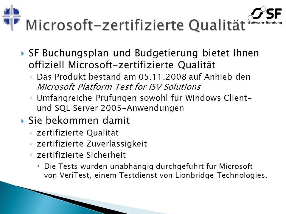 Microsoft-zertifizierte Qualität