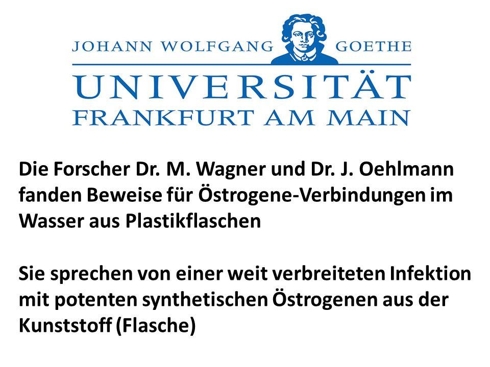 Die Forscher Dr. M. Wagner und Dr. J