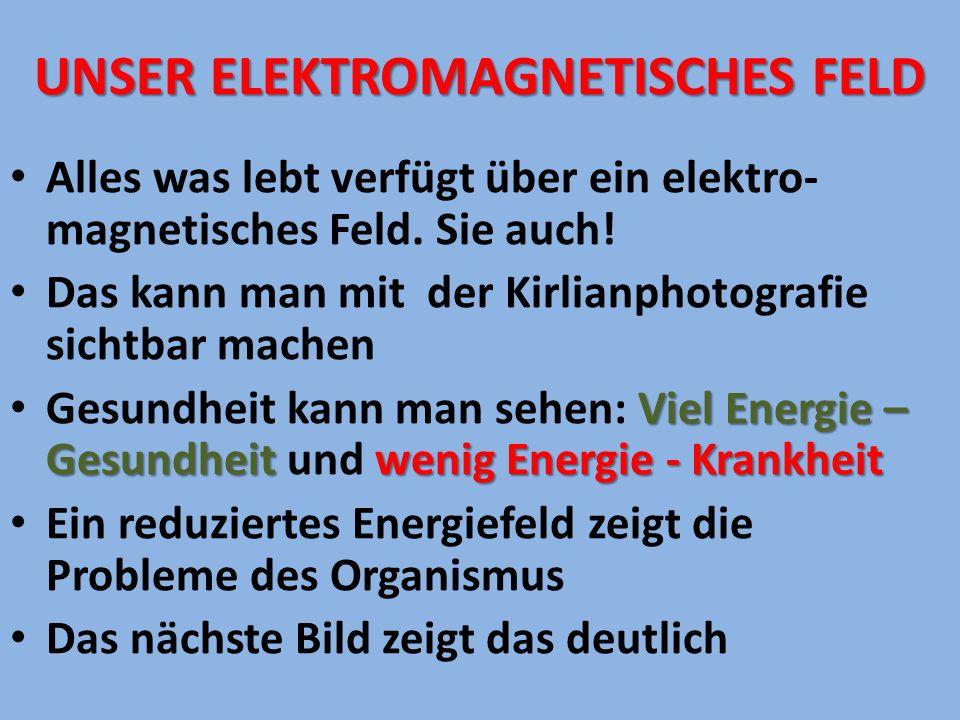 UNSER ELEKTROMAGNETISCHEs fELD