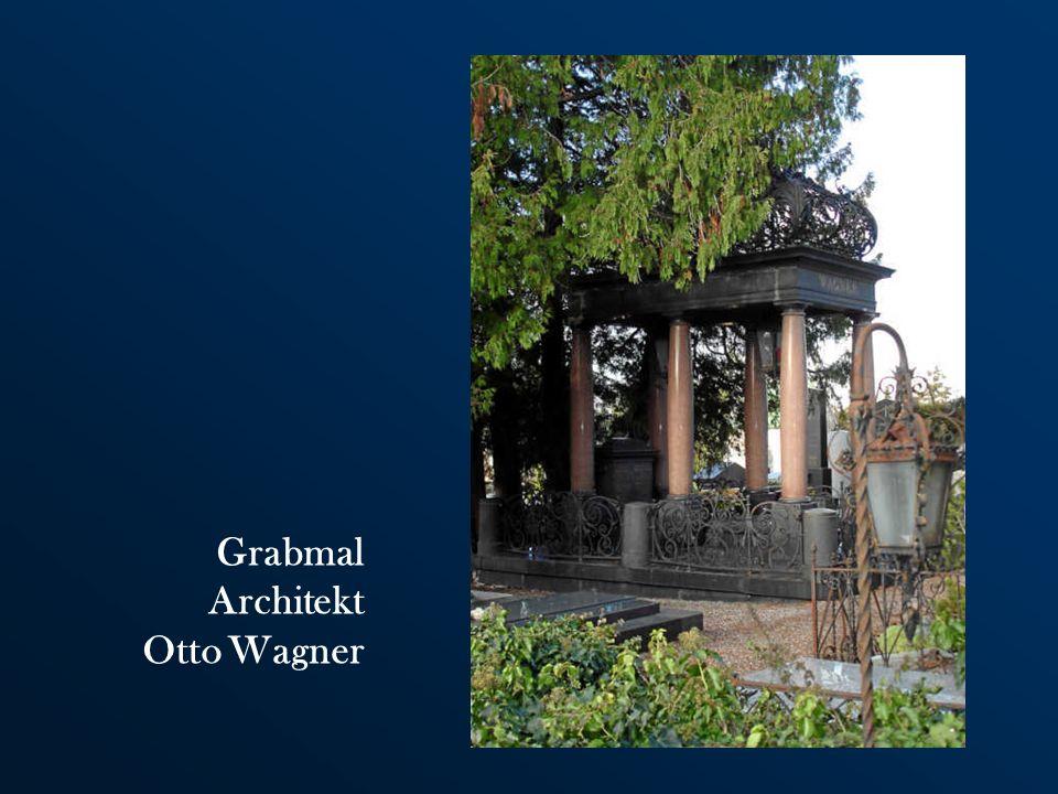 Grabmal Architekt Otto Wagner