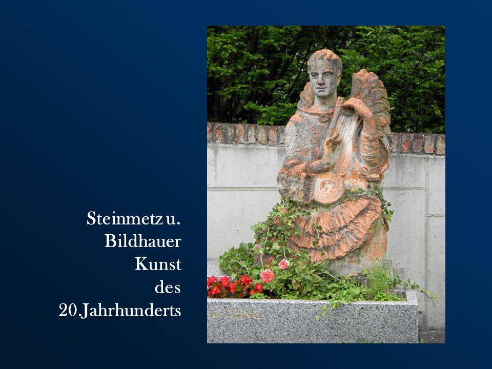 Steinmetz u. Bildhauer Kunst des 20.Jahrhunderts