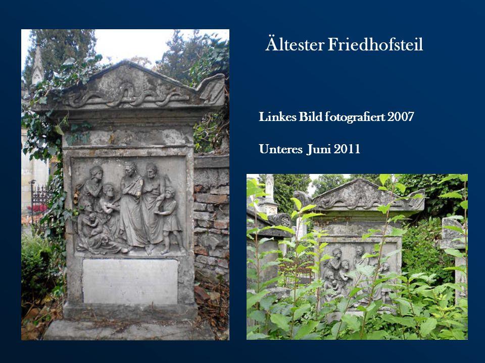 Ältester Friedhofsteil
