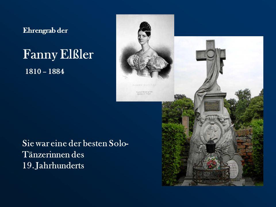 Fanny Elßler Sie war eine der besten Solo-Tänzerinnen des