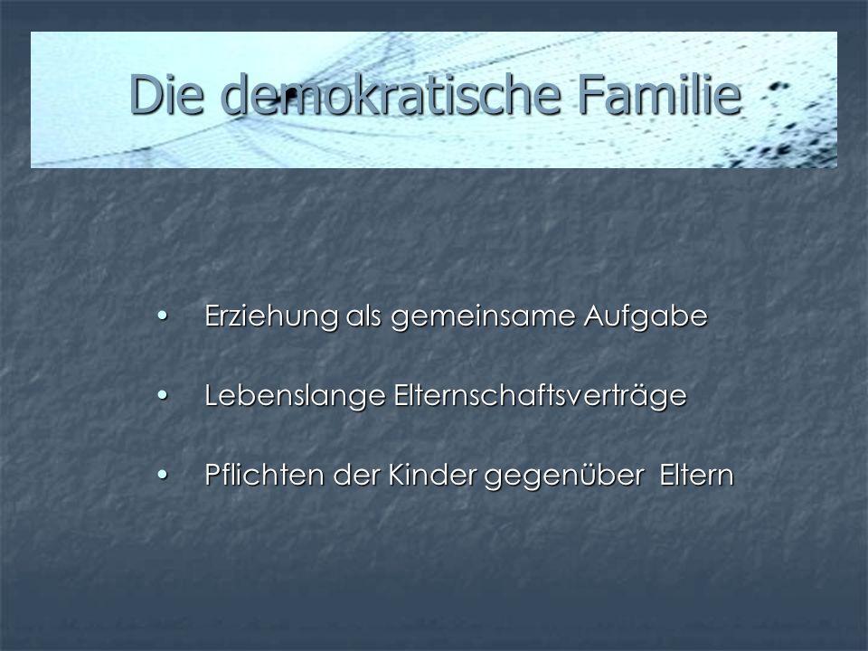 Die demokratische Familie