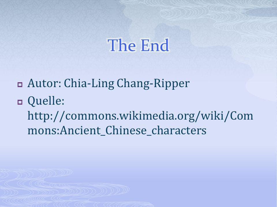 The End Autor: Chia-Ling Chang-Ripper