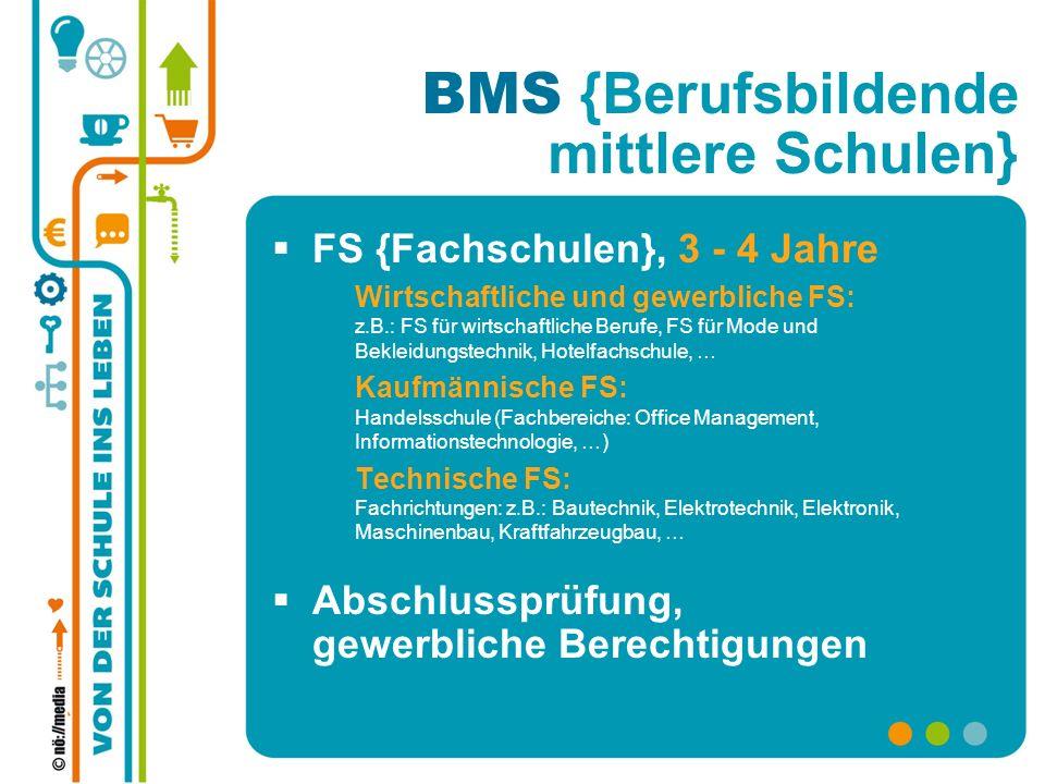 BMS {Berufsbildende mittlere Schulen}