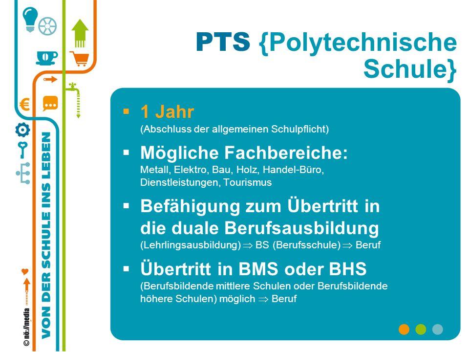 PTS {Polytechnische Schule}
