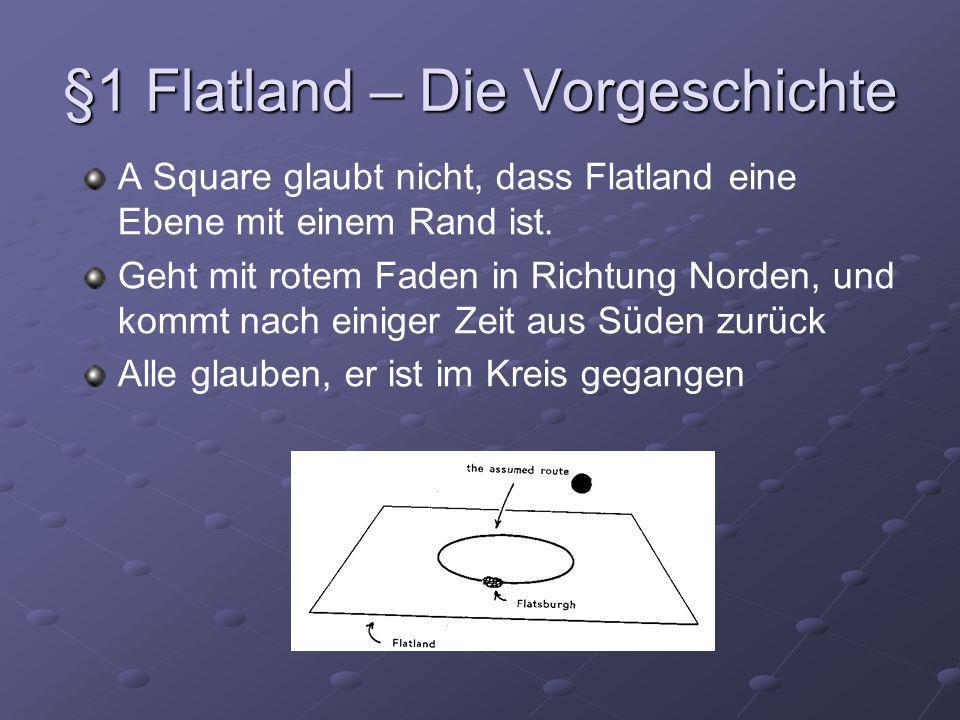 §1 Flatland – Die Vorgeschichte